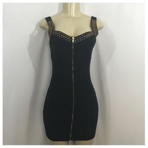 Forever 21 Black Mini Party Dress Medium